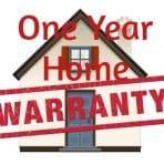One Year Home warranty
